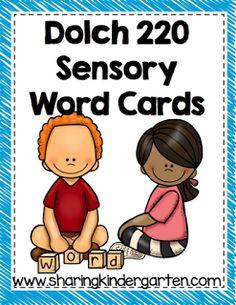 http://www.teacherspayteachers.com/Product/Dolch-Sensory-Words-807946
