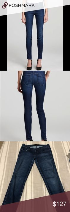 """🔥Genetic Denim 'Shya' Skinny in Vista Size 25🔥 🌟The softest jean you will ever own!!🌟 *only been worn 4 times *zip fly button closure, 5 pocket style *8"""" rise, 30"""" inseam, 10.5"""" Leg opening *tencel fabric (lyocell, cotton, model, polyester, polyurethane) *hand or Mach wash *made in USA *Style: W1085-JT-01-VS *Cut: 10635 Genetic Denim Jeans Skinny"""
