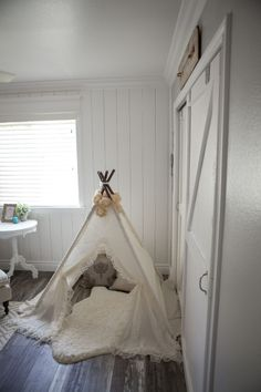 This girly teepee to