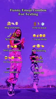 Funny Texts Jokes, Text Jokes, Stupid Funny Memes, Funny Relatable Memes, Funny Tweets, Haha Funny, Funny Emoji Combinations, Funny Insults And Comebacks, Teen Life Hacks