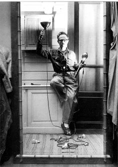 Willy Ronnis , Autoportrait