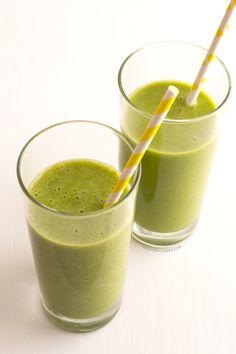 Batido verde contra la celulitis | http://danzadefogones.com/batido-verde-contra-la-celulitis/