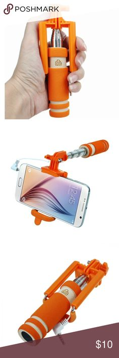 """THE CUTIES MINI HAND SIZE SELFIE STICK THE CUTIES MINI HAND SIZE SELFIE STICK 20"""" LONG FROM THE HANDLE TO THE PHONE A MUST HAVE FOR TRIPS Accessories"""
