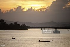 Stock Photo : Permume River (Song Huong) at sunset Vietnam, Stock Photos, Sunset, Photography, Photograph, Fotografie, Photoshoot, Sunsets, The Sunset