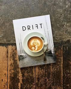 Good morning Wednesday! One of our most favourite magazinesDrift Issue 4…