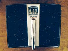 Vintage Borg Black And Chrome Bathroom Scale By Ampersandcle In Florida Usa