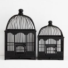 Maurice Black Birdcage from Provincial Home Living