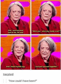 Oh, how I love Maggie Smith...