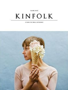 saw this lovely little guys face on a shelf at work last night and brought him home. We got the spring volume in early! #favorite @Anthropologie @Kinfolk Magazine