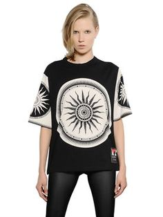 New Fausto Puglisi Limited Edition Printed Cotton T-Shirt fashion online. [$359]newtopfashion top<<