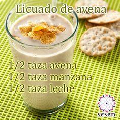 #Bebidas #Avena #Manzana