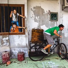 The best things to do in Penang, food and art!!! Discovered by AnotherTraveler.com at Georgetown, #Malaysia
