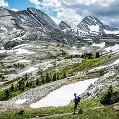 This is why you do the hike to Burstall Pass in Kananaskis Country, Alberta