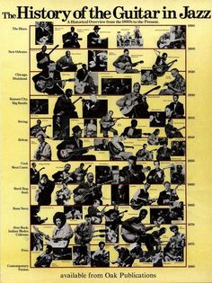 The History of the Guitar in Jazz