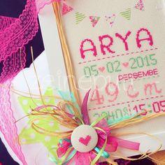 Zeinepuu: Arya*nın doğum panosu ♥