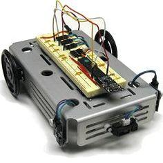 Proximity sensing robot