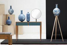Blueware Vases | * Glithero * #Cyanotype #sunprint #blauwdruk