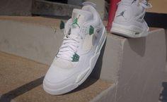"""Air Jordan 4 """"Classic Green"""""""
