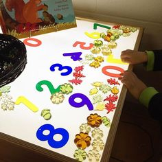 The work of a mathematician. #kindiekorner #kindergarten #kindergartenteacher…