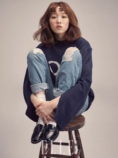 Lee Sung Kyung - Elle Magazine Februar-Ausgabe - K fashion - Fashion Book