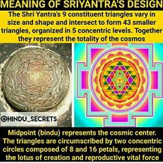 Vedas India, Shri Yantra, Hinduism, Temples, Religion, Spirituality, Knowledge, Facts, Science