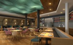 Seafood Restaurant, Dalian, By Red Design Consultants