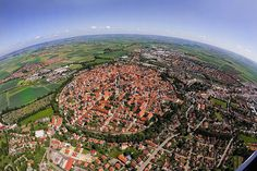 Nördlingen: German town in a crater