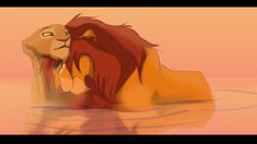 Simba and Nala by WildRogueLioness on DeviantArt Simba E Nala, Nala Lion King, Lion King Story, Lion King Fan Art, Simba Disney, Disney Lion King, Disney And Dreamworks, Le Roi Lion, Arte Disney