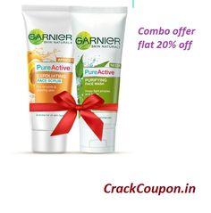 #Garnier #Skin Naturals #Summer #Cleansing - Combo offer flat 20% off