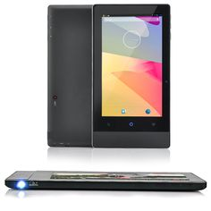 Tablet and Projector All in One Android Device:  @ http://www.gadgetised.com/?p=26467