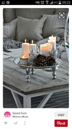 Top Silver And White Christmas Decoration Ideas Silver and white color combination look surreal. It is reminiscent of the icy winter days. So this Christmas, forget the traditional green and red and [. White Christmas, Christmas Time, Rustic Christmas, Christmas Coffee, Christmas Candles, Beautiful Christmas, Christmas Ornament, Merry Christmas, Vibeke Design