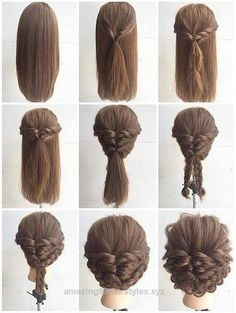 Terrific Fashionable Braid Hairstyle for Shoulder Length Hair … The post Fashionable Braid Hairstyle for Shoulder Length Hair …… appeared first on Amazing Hairstyles .