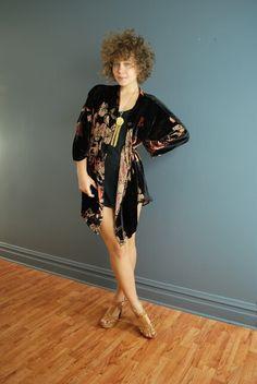 80's kimono top via ebay