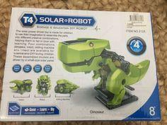 Solar Robot - Robot Dinosaur Insect Drilling M/C Age Robot Dinosaur, Diy Robot, Science Education, Drill, Solar, Age, Gift Ideas, Learning