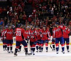 Washington Capitals Hockey, Hockey Teams, Basketball Court, Sports, Hs Sports, Sport