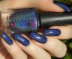 Green, Glaze & Glasses: Lacke in Farbe... und bunt! - Marineblau & Blue Friday (Colors by Llarowe - In The Navy)