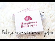 Kako ja nosim statement ogrlicu | Happiness Boutique