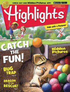 Highlights is the classic kids magazine, packed full of learning and fun for children ages Get a free Hidden Pictures gift with each new subscription! Parenting Plan, Parenting Books, Parenting Styles, Highlights Magazine, Fall Highlights, Budget Book, 4th Grade Reading, Hidden Pictures, Picture Gifts