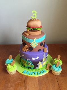 Sweet cakes by Jessica www.facebook.com/jessweetcakes  Scooby Doo cake