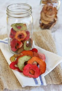 Kid Favorite- Fruity Baked Apple Chips from ourbestbites