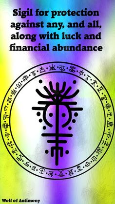commission protection financial abundance anonymous against sigil along with luck for any and all Sigil for protection against any and all along with luck and financial abundance commission for aYou can find Sigils witchcraft and more on our website Alchemy Symbols, Magic Symbols, Spiritual Symbols, Ancient Symbols, Viking Symbols, Egyptian Symbols, Viking Runes, Wiccan Spell Book, Magick Book