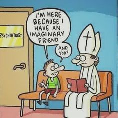 Look out, kid. That priest is there for two problems.