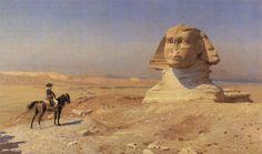 Jean-Léon Gérôme, Napoléon Bonaparte devant le Sphinx
