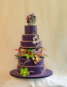 wedding cake, nightmare before christmas
