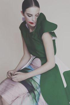 Photography: Nhu Xuan Hua Designs: Oksana Anilionyte MUA: Pace by Pace Model: Jess Houghton @ Next Models