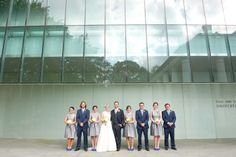Modern Museum Wedding in Louisiana | Images by Catherine Guidry Photography | Via Modernly Wed | 38