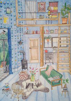 Illustration by Yara Francken, 2017 Summer House