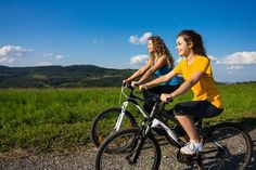 Exercises For Teenagers cycling