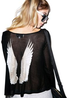 Wildfox Couture Heavenly Cassidy Long Sleeve | Dolls Kill
