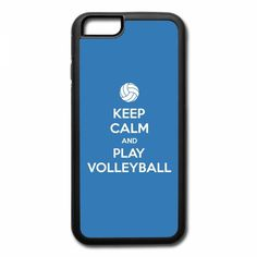 keep calm and play volleyball 1 iPhone 7 Plus Case